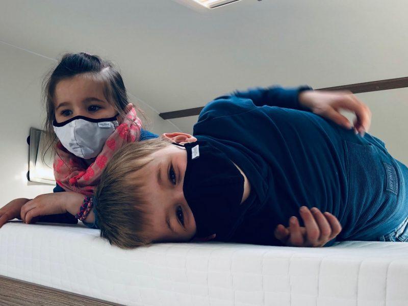 Kinder sollten keine Maske tragen